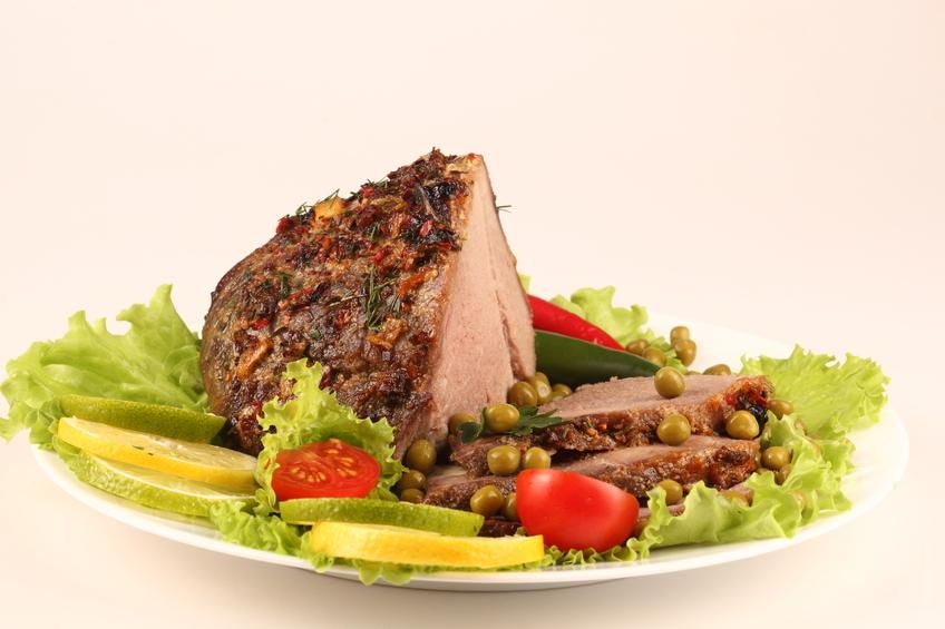 cotlet de porc la gratar calorii