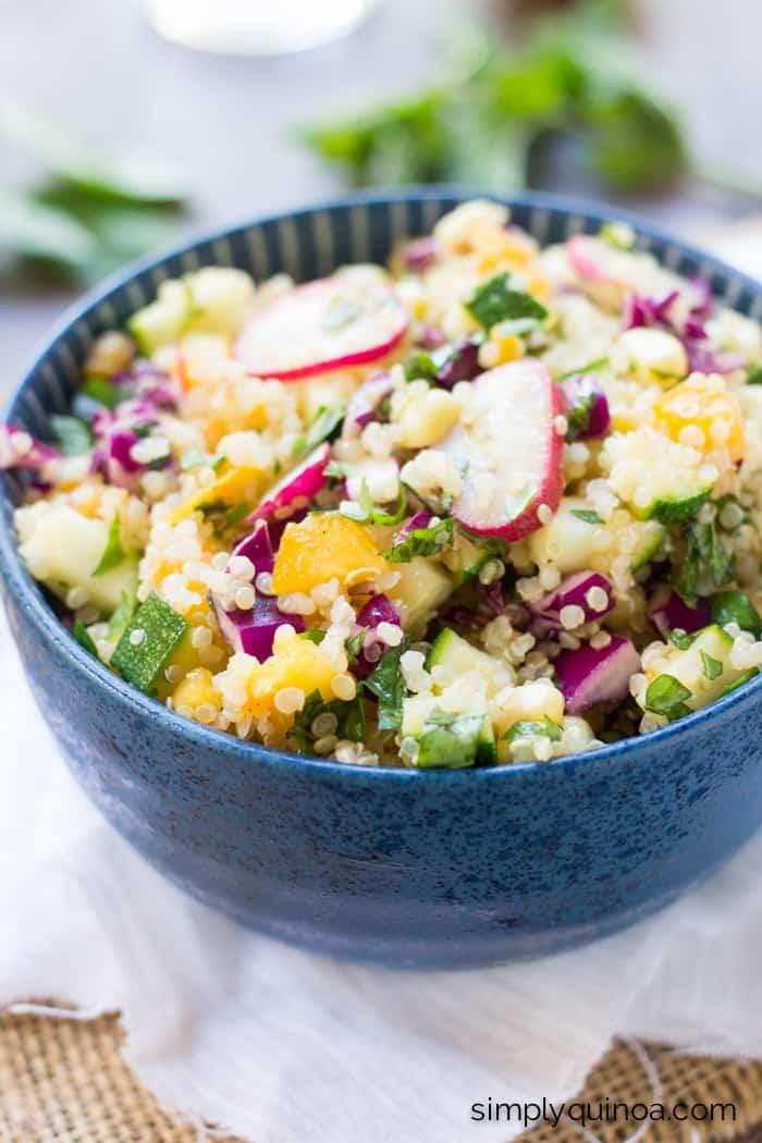 cura de slabit cu quinoa