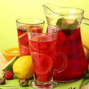 Imagini pentru limonada de capsuni