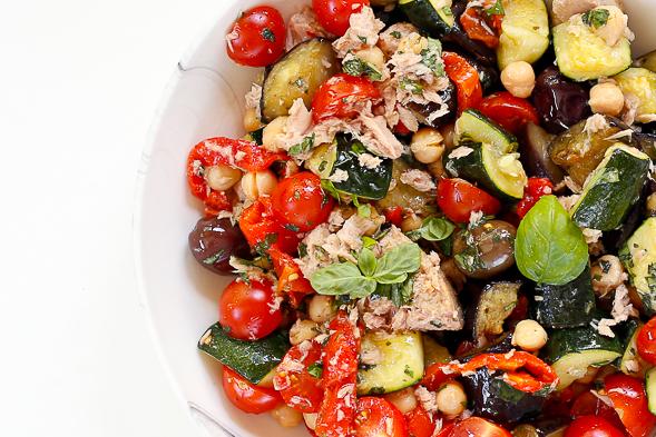 salata cu ton pentru slabit)