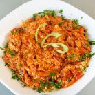 Mish-Mash: omleta bulgareasca cu rosii, branza si ardei