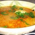 Supa cu usturoi si ou