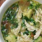 Supa cu pui si avocado