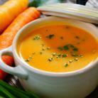 Supa crema de morcovi cu ghimbir si lamaie