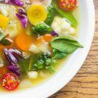 Supa cu legume si linte, pentru detoxifiere si slabire