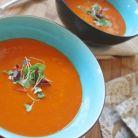 Idee de cina: supa crema de rosii cu morcovi
