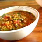 Supa tunisiana cu naut, legume si chimen