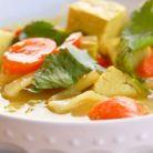 Supa cu tofu si legume