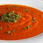 Supa crema de rosii cu chimen