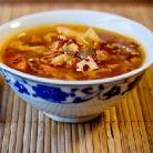 Supa dulce acrisoara cu tofu