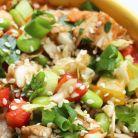 Salata chinezeasca de pui cu edamame