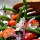 Salata cu fasole verde: energie cu doar 300 de calorii!