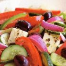 Adevarata salata greceasca