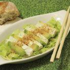 Salata energizanta cu avocado, branza si nuci