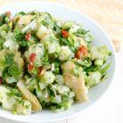 Cina de 450 de calorii: salata de cartofi cu piept de pui