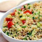 Salata cu orez brun pentru slabit