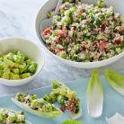 Salata de quinoa cu avocado si castraveti