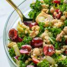 Salata verde cu cirese si quinoa