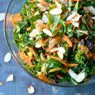 Salata cu varza kale, broccoli si avocado