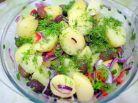 Cartofi noi si ritmuri orientale - iata 4 salate simple si dietetice din care sa alegi