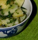 Salata de cartofi cu mult patrunjel