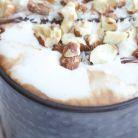 Ciocolata calda cu migdale