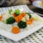Dieta cu orez fiert si legume: 15 zile si 5 kilograme mai putin