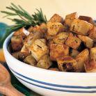 Cartofi cu rozmarin si usturoi la cuptor