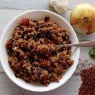Salata de quinoa cu fasole neagra, de 200 de calorii
