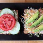 Sandvisul vegan care poate inlocui o masa de pranz