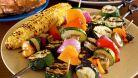 Slabirea cu frigarui din legume este geniala - simplu, rapid si de efect