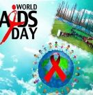 Lant uman sub forma unei funde rosii de Ziua Mondiala de Lupta impotriva HIV/SIDA