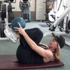 VIDEO 70 de exercitii cu mingea medicinala in 11 minute
