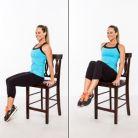 6 exercitii pe care le poti face in timp ce stai pe scaun la birou