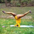 Profesoara de yoga care a invins gravitatia (si pronosticurile pesimiste)