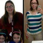 Poveste de succes: A slabit singura de la 130 de kilograme la 72