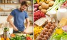 Comparatie intre diete si un regim alimentar sanatos