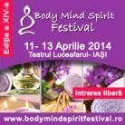 Body Mind Spirit Festival ajunge din nou la Iasi!