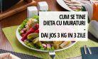 Cum se tine dieta cu muraturi - dai jos 3 kilograme in 3 zile
