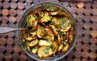 Scapi de 1 kg pe zi cu vinete marinate in stil mediteranean